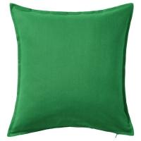 ГУРЛИ Чехол на подушку, классический зеленый