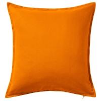 ГУРЛИ Чехол на подушку, оранжевый