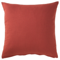 ВИГДИС Чехол на подушку, красно-оранжевый
