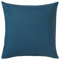 ВИГДИС Чехол на подушку, синий