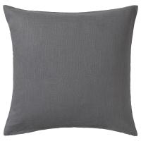 ВИГДИС Чехол на подушку, темно-серый