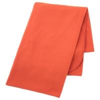 СКУГСКЛОКА Плед, оранжевый