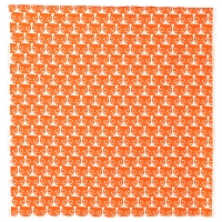 МАТТРАМ Ткань, оранжевый