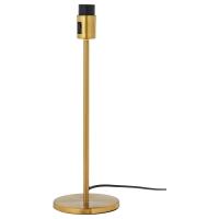 РОДД Основание настольной лампы, желтая медь