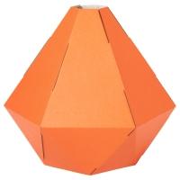 ЮКСТОРП Абажур для подвесн светильника, оранжевый