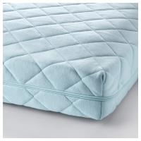 ВИССА ВИНКА Матрас для детской кроватки, синий