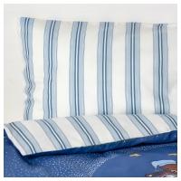 СОВДАГС Комплект постельного белья, 3 предм, синий