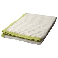 БАРНКЭР Детское одеяло, белый, зеленый