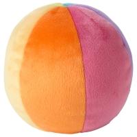 ЛЕКА Мягкая игрушка,мяч, разноцветный
