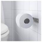 ГРУНДТАЛЬ Держатель туалетной бумаги, нержавеющ сталь
