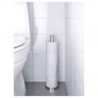 ГРУНДТАЛЬ Держатель для туалетной бумаги, нержавеющ сталь