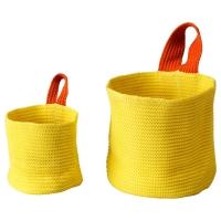 СТИККАТ Набор корзин,2 штуки, желтый, оранжевый