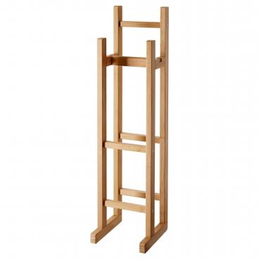 РОГРУНД держатель для туалетной бумаги бамбук