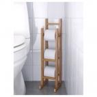 РОГРУНД Держатель для туалетной бумаги, бамбук