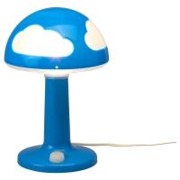 СКОЙГ Лампа настольная, синий