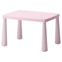 МАММУТ Стол детский, д/дома/улицы светло-розовый светло-розовый