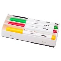 МОЛА Фломастер для доски, разные цвета