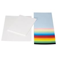 МОЛА Бумага, разные цвета, различные размеры