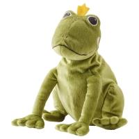 КВАК Мягкая игрушка, лягушка/принц