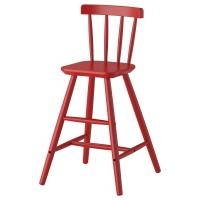 АГАМ Детский стул, красный