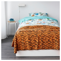 ДУВТРЭД Покрывало/одеяло, оранжевый