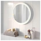 СТОРЙОРМ Зеркало с подсветкой, белый
