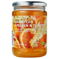 MARMELAD APELSIN & FLÄDER Джем из апельсина и цветов бузины