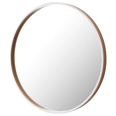 СКОГСВОГ Зеркало, белый, буковый шпон