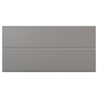 БУДБИН Фронтальная панель ящика, серый