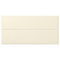 БУДБИН Фронтальная панель ящика, белый с оттенком