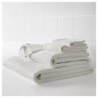 САЛЬВИКЕН Банное полотенце, белый
