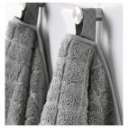 ОФЬЕРДЕН Банное полотенце, серый