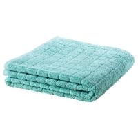 ОФЬЕРДЕН Банное полотенце, зелено-синий
