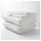 ОФЬЕРДЕН Банное полотенце, белый