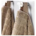 ОФЬЕРДЕН Банное полотенце, темно-бежевый