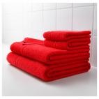ФРЭЙЕН Банное полотенце, ярко-красный