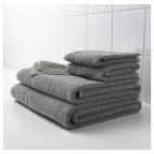 ФРЭЙЕН Банное полотенце, серый