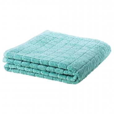 ОФЬЕРДЕН Простыня банная, зелено-синий