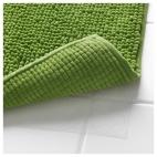 ТОФТБУ Коврик для ванной, зеленый