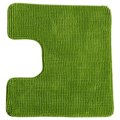 ТОФТБУ Коврик в туалет, зеленый