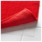БАДАРЕН Коврик для ванной, ярко-красный