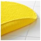 БАДАРЕН Коврик для ванной, желтый
