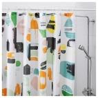 ДОФТКЛИНТ Штора для ванной, разноцветный