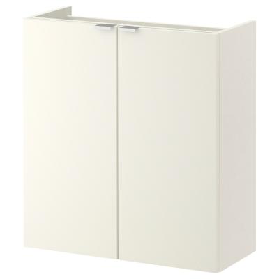 ЛИЛЛОНГЕН шкаф под раковину с 2 дврцами белый