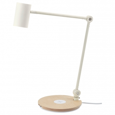 РИГГАД лампа с беспроводной зарядкой