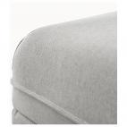 ВАЛЛЕНТУНА Секция дивана+отделение д/хранения, Оррста светло-серый