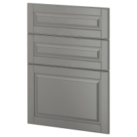МЕТОД 3 фронтальн панели д/посудом машины, Будбин серый