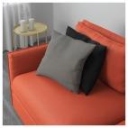 ВАЛЛЕНТУНА 6-местный угловой диван, Оррста светло-серый