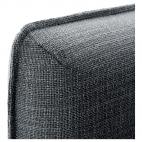 ВАЛЛЕНТУНА 4-местный диван, Хилларед темно-серый, Оррста светло-серый
