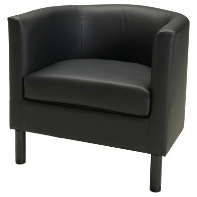 СОЛЬСТА ОЛАРП кресло, Идгульт черный